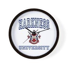 HARKNESS University Wall Clock