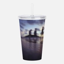 Cool Peace out Acrylic Double-wall Tumbler