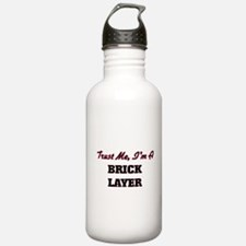 Funny Bricklayer Water Bottle