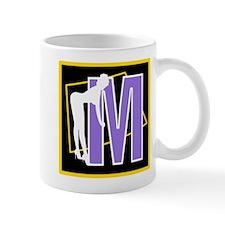 Naughty Initial Design (M) Mugs