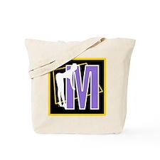 Naughty Initial Design (M) Tote Bag