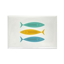 Stacked Fish Magnets