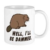 Beaver Small Mugs (11 oz)