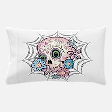 Sweet Sugar Skull Pillow Case
