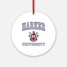 HARKER University Ornament (Round)