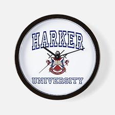 HARKER University Wall Clock