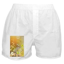 Beautiful yellow flowers Boxer Shorts
