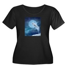 spirit wolf Plus Size T-Shirt