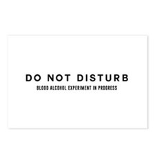 Do Not Disturb Blood Alcohol Experiment In Progres