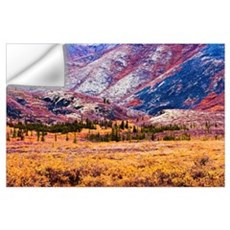 Fall Colours In Ogilvie Mountains, Tombstone Terri Wall Decal