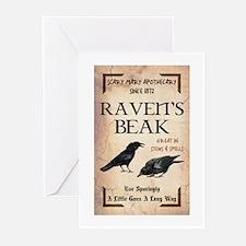 RAVEN'S BEAK Greeting Cards (Pk of 20)