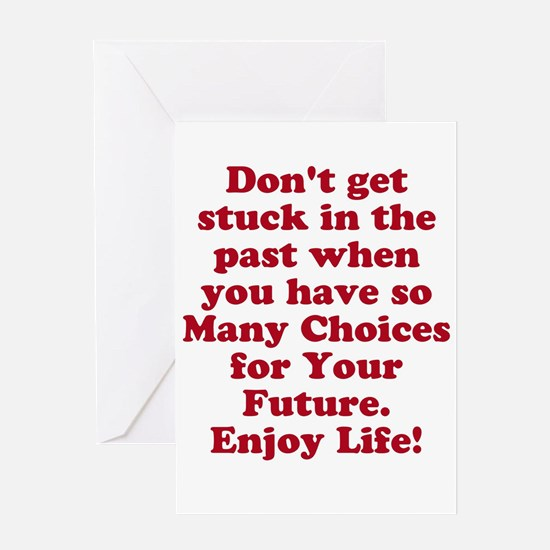 Don't Get Stuck Greeting Cards
