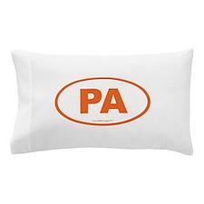 Pennsylvania PA Euro Oval Pillow Case