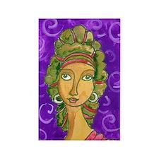 Goddess 2 Rectangle Magnet