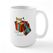 Feline Navidad Mugs