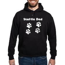 Staffie Dad Hoodie