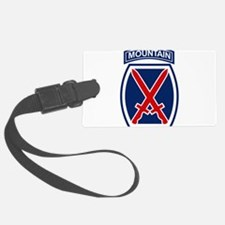 10th Mountain Division.psd.png Luggage Tag