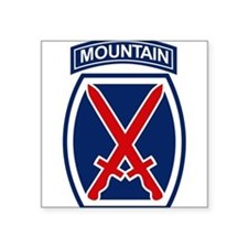 10th Mountain Division.psd Sticker