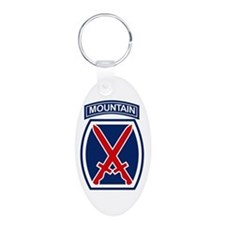 10th Mountain Division.psd Keychains