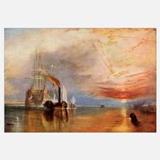 The Fighting Temeraire By J.M.W. Turner, From The