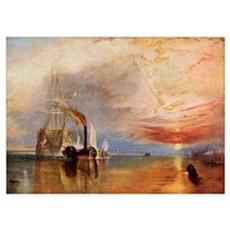 The Fighting Temeraire By J.M.W. Turner, From The  Poster