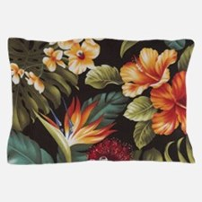 Hawaiian flowers Pillow Case