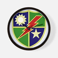 75th Ranger Regiment.png Wall Clock