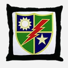 75th Ranger Regiment.png Throw Pillow