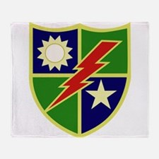 75th Ranger Regiment.png Throw Blanket