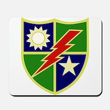 75th Ranger Regiment.png Mousepad