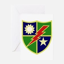 75th Ranger Regiment Greeting Cards