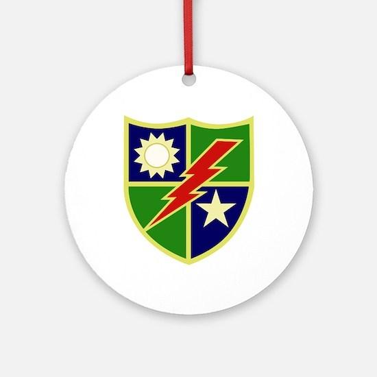 75th Ranger Regiment.png Ornament (Round)
