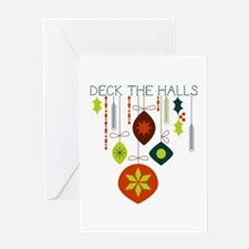 Deck The Halls Greeting Cards