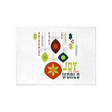 Joy To The World 5'x7'Area Rug