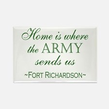 Us army mom Rectangle Magnet