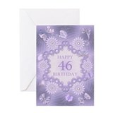 46 birthday Greeting Cards
