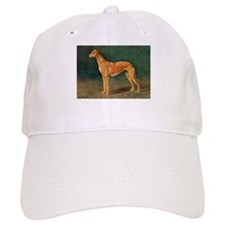 Greyhound Watercolor Hat
