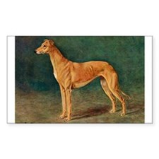 Greyhound Watercolor Decal