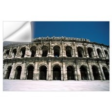 Amphitheatre Exterior Wall Decal