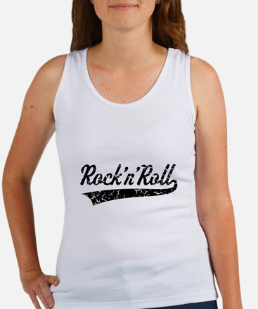 Rock 'n' Roll Vintage (Black) Tank Top