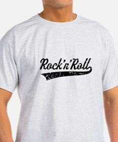 Rock 'n' Roll Vintage (Black) T-Shirt