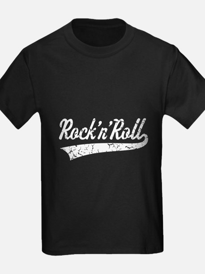 Rock 'n' Roll Vintage (White) T-Shirt