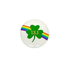 Shamrock 13.1 half-marathon Mini Button (100 pack)