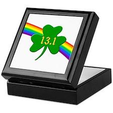Shamrock 13.1 half-marathon Keepsake Box
