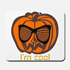 Cool Halloween jack o'lantern Mousepad