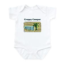 CRAPPY CAMPER Infant Bodysuit