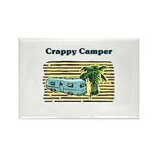 CRAPPY CAMPER Rectangle Magnet