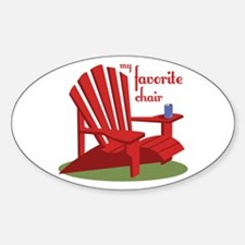 Favorite Chair Decal