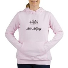 HER MAJESTY Women's Hooded Sweatshirt