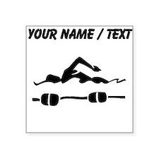 Custom Swimmer Sticker